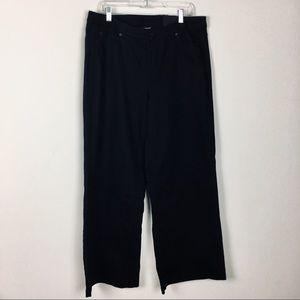 Lane Bryant A Line Trouser Denim Jeans Size 16